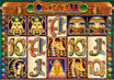 Click To Enlarge Cleopatra II Screenshot and Cleopatra Free Spins Bonus Game Review