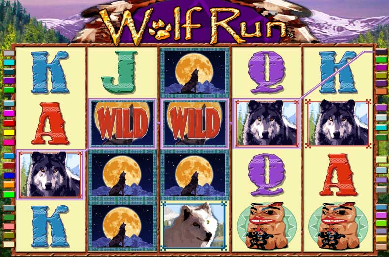 free online slot machines wolf run sizzling hot game