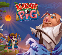 Play Karate Pig Slot at 32Red Casino